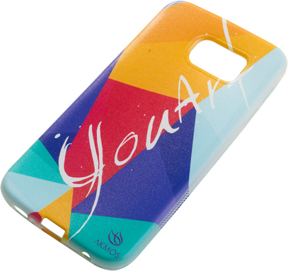 CAPA CELULAR IPHONE 6 YOU ART  COLORIDA  Akmos