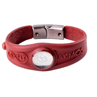 AKFIT BRACELET PEARLY RED BURN GG Akmos