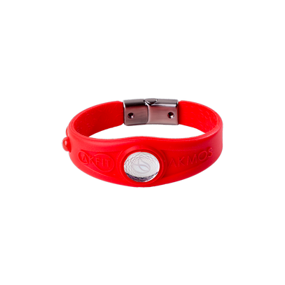 AKFIT BRACELET FITNESS RED FIRE M Akmos