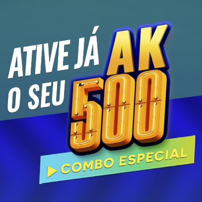 COMBO ATIVACAO - AK 500 Akmos