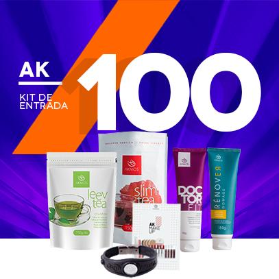 KIT ENTRADA AK 100 - CAMPEOES Akmos