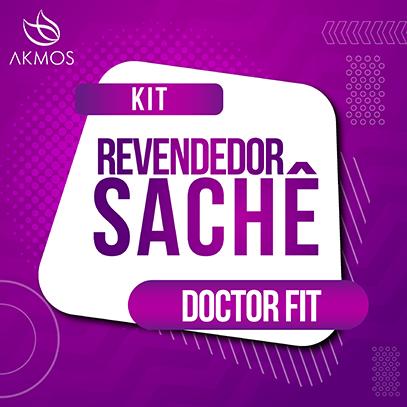 KIT REVENDEDOR - AMOSTRA SACHE DOCTOR FIT Akmos