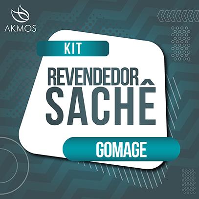 KIT REVENDEDOR - AMOSTRA SACHE GOMAGE Akmos
