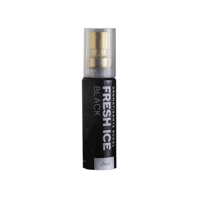 FRESH ICE AROMATIZANTE BUCAL BLACK 15ML Akmos
